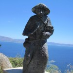 <b>statue pelerin</b> <br />
